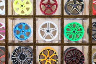 Bicolor Felgen Design in München und Eching