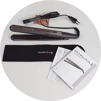 Verpackungsinhalt: Haarglätter Sleek and Curl
