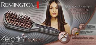 Verpackung Haarglättbürste Remington CB7480