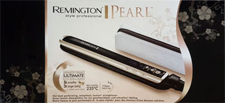 Remington S9500 Haarglätter Pearl