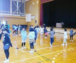 北条小学校での講演実習会