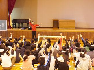 大栄小学校の講演実習会