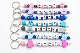 Schlüsselanhänger mit Name, Anhänger Name