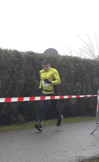 Helmut auf dem Weg zum Ziel