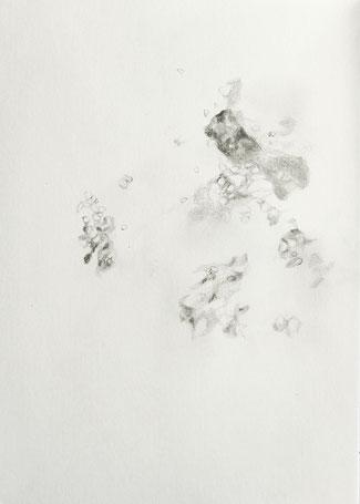 o.T., 2020, Bleistift auf Papier, 21x 14.8 cm