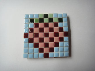 mosaic block strawberry   ¥700   販売済