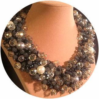 collier de soirée, bijoux de soirée