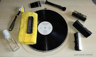 Pflege-Utensilien good-vinyl.de