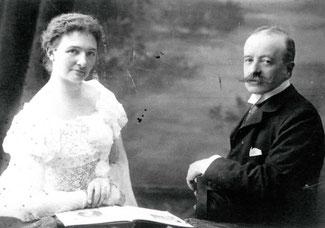 Joseph de Meeûs et Alix de Beauffoirt