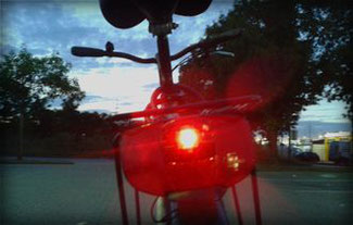 Fahrrad-Rücklicht