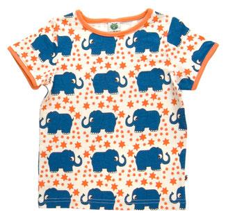 Smafolk Kindermode Shirts Babymode Elefanten 70er Retro Sterne