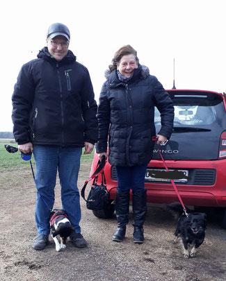 Tosia (nun Ronja) fuhr mit ihrer Familie und einem Hundekumpel nach Dortmund.