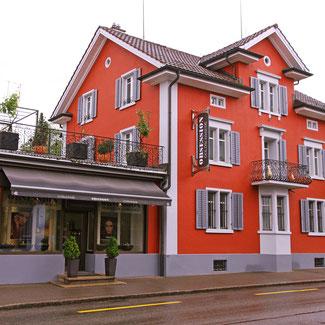 Geschäft und Atelier der Goldschmiede OBSESSION in Wetzikon