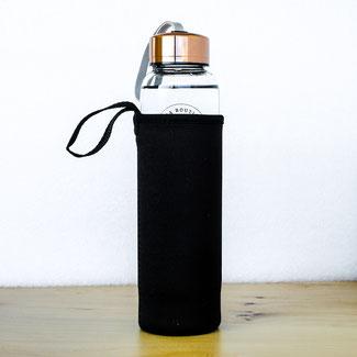 Edelstein Wasserflasche Schutzhülle