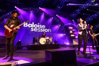 Musiker an der Baloise Session Basel