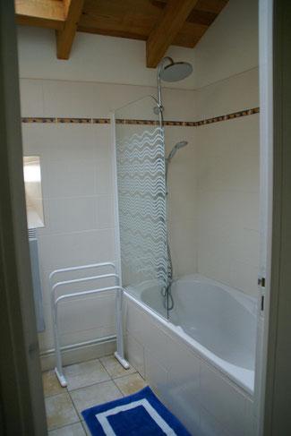 Les salles de bain - Gite à Auteroche dans le cantal en auvergne