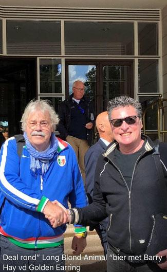 Barry Hay en Robert Groeneveld