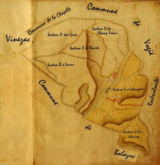 Cadastre géneral de 1813 (retouchée)