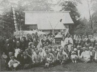 国後島・老登山神社(例祭)