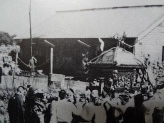 国後島・泊神社(例祭)