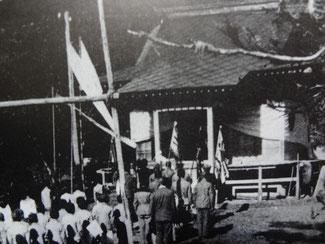国後島・東沸神社(出征兵士の武運祈願)