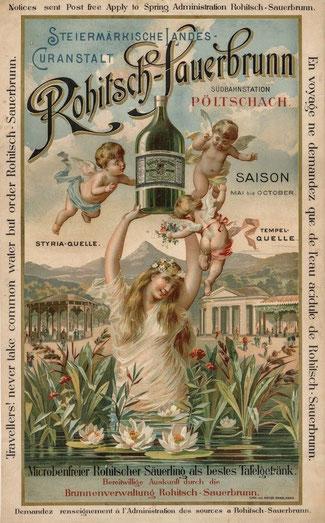 Rohitsch Sauerbrunn, Reklame