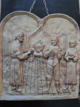 Due episodi della vita di san Giuseppe da Copertino