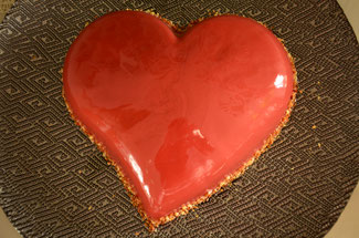 saint valentin, meilleur patissier, chocolat, framboises