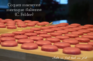 macaron meringue italienne