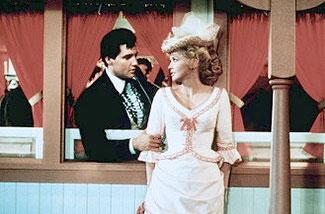 """Elvis und Donna Douglas im Film """"Frankie And Johnny"""""""