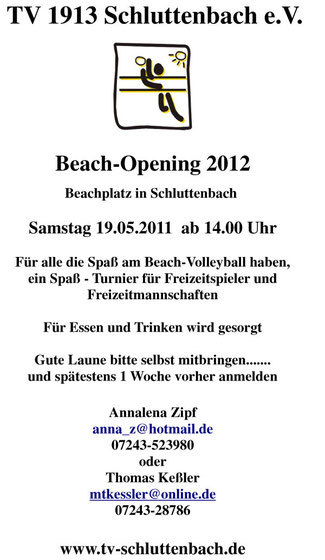 TV 1913 Schluttenbach Beach Opening 2012