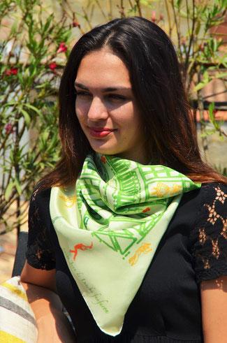 foulard-fanfaron-madeinfrance-pays basque-saint jean de luz