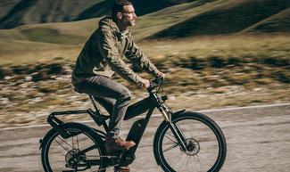 Riese & Müller e-Bikes und Pedelecs in der e-motion e-Bike Welt in Hombrechtikon