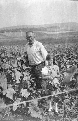 Photo arrière Grand-père