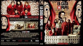 La Casa De Papel Saison 2 (Blu-Ray)