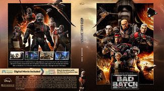 Star Wars The Bad Batch Saison 1 (Blu-RAY) + (UHD)