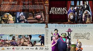 The Addams Family 1 & 2 BluRay