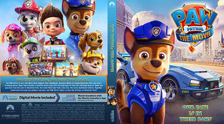Paw Patrol The Movie (2021) Blu-Ray+UHD