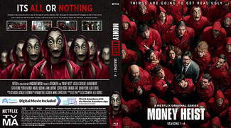 La Casa De Papel Saison 1-4 (Blu-Ray)