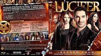 Lucifer Saison 4 Blu-Ray