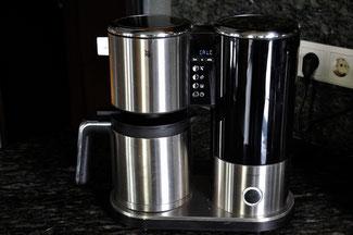 Genau ..... Kaffee kochen