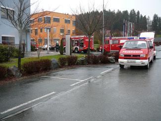 Auspumparbeiten TEZ Georgsberg 24.11.2013
