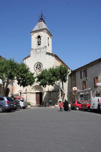 Bild: Kirche von Beaumes de Venise