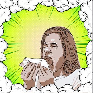 Influenza, tosse e starnuti