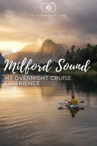 Experience Milford Sound in New Zealand in a unique way. My review of the overnight cruise with Fiordland Discovery #NewZealand #Travel