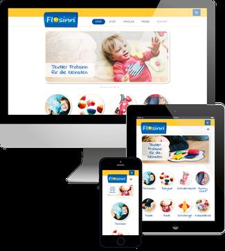 Flosinn Jimdo Webshop