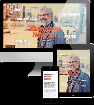 Autor Alexander Häusser - Jimdo responsive Webdesign