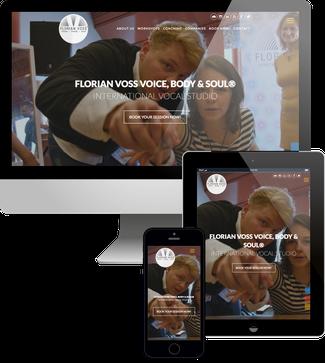 Voice Body & Soul Schweden - Jimdo responsive Webdesign