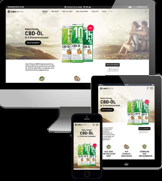 cbd aktiv - Jimdo Webshop
