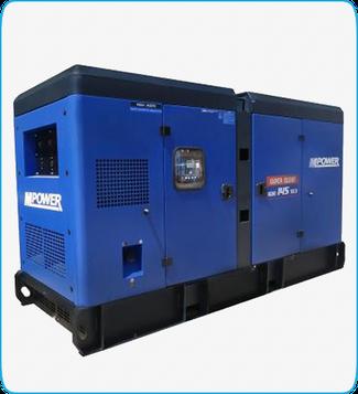 Generador Eléctrico Diesel KDE145SS3 Mpower